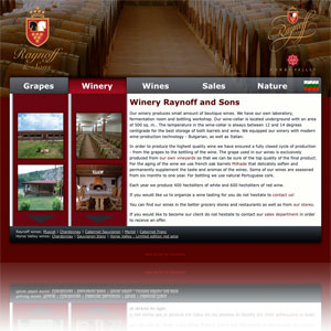 Winery Raynoff and Sons